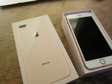 Apple iPhone 8 Plus 64GB Gold Network Unlocked A1897 GSM Great Cond MQ8V2LL/A