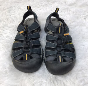 Keen Newport H2 Blue Waterproof Hiking Sandals Mens Size 7 EUC 1001938