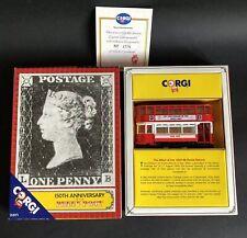1990 Ltd Ed 4376/8000 Corgi Covered Tram 150th Anniversary Penny Post Philately