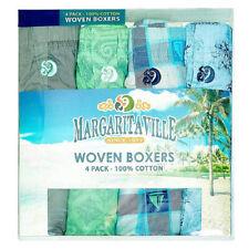 Margaritaville Boxer Shorts 4-Pack, XXL (Asstd Colores) + Free Nautica Voyage