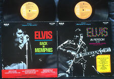 ELVIS PRESLEY - FROM MEMPHIS TO VEGAS  Very rare 1970 Aussie G/F LP Release!