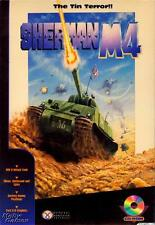 Sherman M-4 PC CD Normandy Ardennes & Desert World War II tank simulator game!