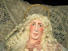 Artisan Arturo E.Reyna ANGEL COLLECTIBLE FOLK ART,PRIMITIVE SOFT SCULPTURE DOLL