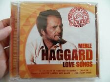 MERLE HAGGARD - LOVE SONGS, COUNTRY HIT PARADE (CD, 2006, DIRECT), NEW SEALED!