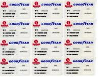 $$$ 20 KENDALL GOODYEAR STATIC CLING OIL CHANGE STICKER
