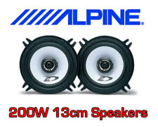 "ALPINE 200W 2WAY 13cm/5.25"" SXE CAR DOOR SHELF SPEAKERS"