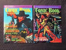 1998 COMIC BOOK MARKETPLACE #56 58 FVF 7.0 LOT of 2 The Shadow - Lost In Space