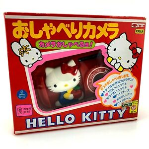 RARE VINTAGE 1985 Sanrio Hello Kitty Japanese Talking Camera w/ Box | Working