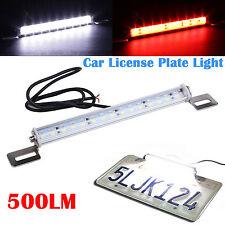 White 30 SMD Bolt-On LED Lamps for Car License Plate Lights Backup Reverse Light