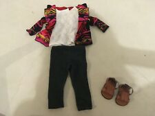 AMERICAN GIRL RARE AND RETIRED GIRL OF THE YEAR 2013 SAIGES SWEATER OUTFIT