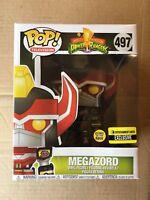 "Funko POP! Television Power Rangers Megazord GITD 6"" Vinyl Figure EE Exclusive"