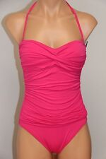 New La Blanca Swimsuit Bikini 1 one piece Sz 6 Strap FUS