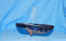 SUNKIST 1958 TEAL AND COPPER VAN NUYES, CALIF POTTERY PLANTER # 461