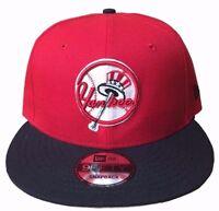 New Era New York Yankees Red/Navy White 9Fifty Original Fit Snapback Hat