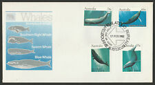 FDC - 1982 WHALES - Unaddressed