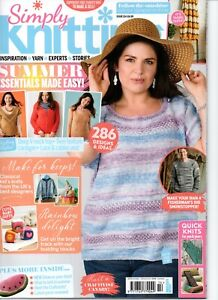 Simply Knitting Magazine. Issue 214. 2021.
