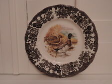 Vintage Royal Worcester Palissy Game Series Mallard Ducks Dinner Plate