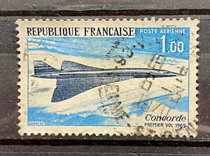 FRANCE - 1969 CONCORDE FIRST FLIGHT - USED STAMP