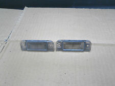 MERCEDES A CLASS 1999 PAIR OF REAR NUMBER PLATE LIGHT CASES ONLY