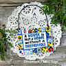 DECO MINI SIGN Sheepadoodle All breeds JUST ASK! Wood Ornament Gift Made in USA