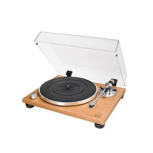 Audio Technica AT LPW30 TK Plattenspieler mit MM-System und Phono-Vorv., Teak