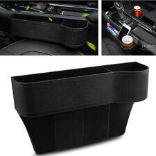 Car Seat Slot Gaps Storage Box High Capacity Organizers ABS Drink Holder Black