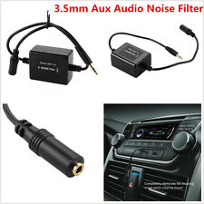 Ground Loop Isolator Car SUV 3.5mm Jack Aux Audio Stereo Noise Suppressor Filter