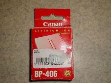 Batterie original Canon BP-406 pour caméscope *NEUF*