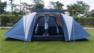 New tent automatic 5-8 person multiplayer 3 Seasons General posted camping tent