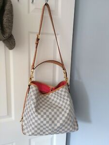 Louis Vuitton Delightful MM Bag & Strap - With Receipt & COA Dust Bags & Box