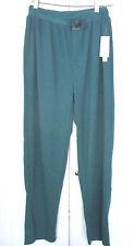 Van Heusen~Teal LOUNGE / SLEEP PANTS Sleepwear~Drawstring~Men's Medium~NWT