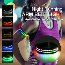 LED Light Arm Armband Strap Belt For Night Running Cycle Walking Outdoor Safety