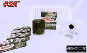 suits: TOYOTA COROLLA ZZE122R 1.8L 1ZZ-FE AIR OIL FILTER SERVICE KIT 2001-2007