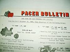 1985 PACER WATER PUMPS