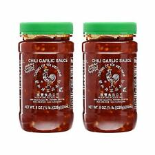Huy Fong Vietnamese Chili Garlic Sauce 8 Oz. (Pack of 2)