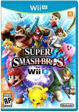 Super Smash Bros. + soundtrack CDs (Nintendo Wii U, 2014)