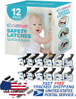 12 X Child Proof Cabinet Locks Drawer Locks Baby Proofing Safety Latch Invisible