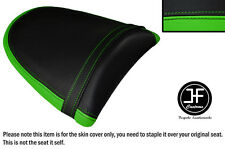 DESGN 2 L GREEN BLACK VINYL CUSTOM FOR KAWASAKI Z750 Z1000 04-06 REAR SEAT COVER