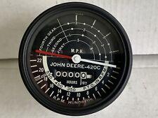 John Deere 420 430c 4 Speed Tachometer Original Am3134t Tach Nice Rare Restored