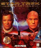 STAR TREK GENERATIONS PC GAME +1Clk Windows 10 8 7 Vista XP Install