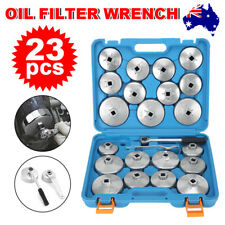 23Pcs Cup Type Oil Filter Wrench Removal Remover Tool Set Kit Socket Aluminium