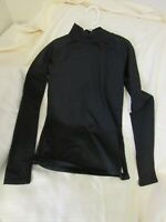 REEBOK Youth Girl's Size XL Active Athletic Base Layer Black Long Sleeve T-Shirt