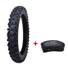 "60/100-14"" Front Knobby Tyre & Tube 110cc 125cc Dirt Trail Bike Tire  2.75-14"""