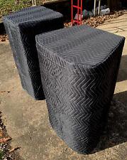 JBL SRX 835P SRX835P Padded Premium Black Speaker COVERS (2)  Qty of 1 = 1 Pair!