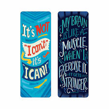 Growth Mindset Motivational Bookmarks - Stationery - 30 Pieces
