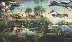 Hungary 2018 Dinosaurs/Lizards/Nature/Animals/Wildlife/Reptiles 6v m/s (hx1090)