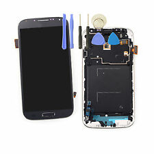 PANTALLA LCD TACTIL + MARCO PARA SAMSUNG GALAXY S4 GT-I9505 Azul Digitalizador