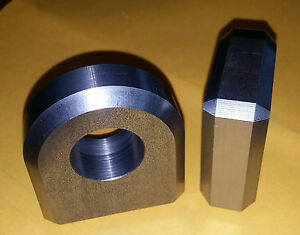 """Shackle Mount for 3/4"""" shackle - Heavy Duty D Ring Weld on Clevis Hydraulic CNC"""