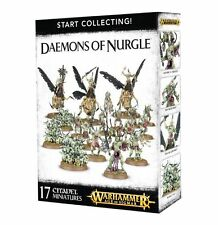 WARHAMMER AGE OF SIGMAR - Start Collecting ! Daemons of Nurgle - NEW/BOX