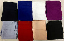 EX M&S COLLECTION 8442 COTTON RICH CROP/CROPPED JEGGING SIZES 8-24